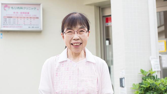もり内科クリニック院長/東大阪市布施医師会理事 田仲みすず先生